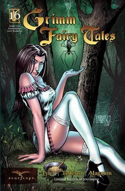Grimm Fairy Tales 16 - La Señorita Mufete