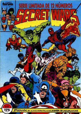 guerra secreta - Secret Wars 12 NUMEROS