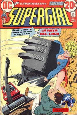 super girl vol 1 1972