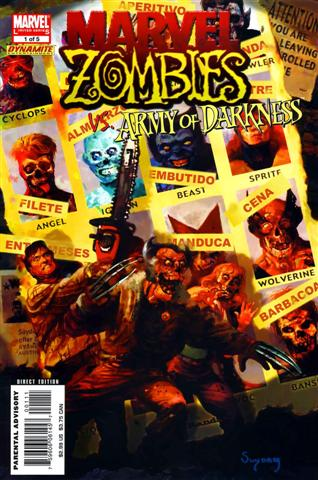 marvel Zombies vs  Army The Darkness COMPLETO onlinE
