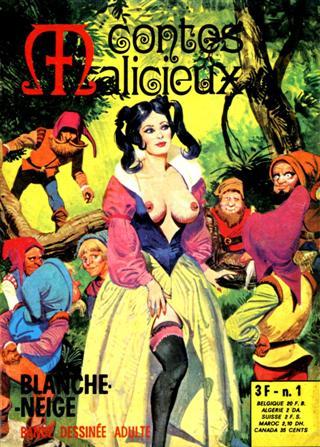 Blanca nieves y los 7 enanos viciosos volumen 1 numero 1-7 español